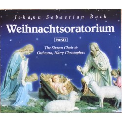 Bach: Juleoratoriet. The Sixteen Choir and Orchestra. Harry Christophers. 2 CD. Naxos