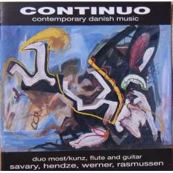 Continuo. Duo Most. Contemporary Danish music. 1 CD. Barbarossa