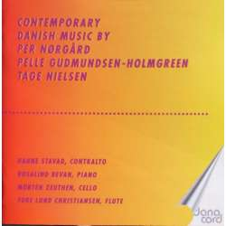 Contemporary Danish music by Per Nørgård, Gudmundsen-Holmgreen. Stavad, Zeuthen. 1 CD. Danacord
