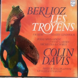 Berlioz: Les Troyens. Vickers, Veasey, Colin Davis. 5 LP. Philips