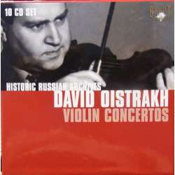David Oistrakh Edition. Historical Russian Archives. 10 CD. Russian Archives