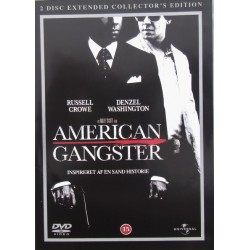 American Gangsters. Russell Crowe, Denzel Washington. 2 DVD. Action