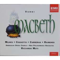 Verdi: Macbeth. Sherill Milnes, José Carreras, Raimondi. Riccardo Muti, New PO. 2 CD. EMI