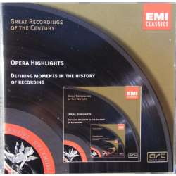 Opera highlights fra Great Recordings of the Century. 1 CD. EMI. GRC