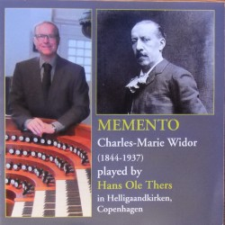 Widor: Memento. Hans Ole Thers. 1 CD. CDK 1165
