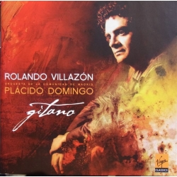 Rolando Villazon. Gitano. (Zarzuela arias) Orchestra de la Comundad de Madrid. Placido Domingo. 1 CD. Virgin