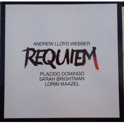 Andrew Lloyd-Webber: Requiem. Domingo, Brightman, Maazel. 1 LP. EMI
