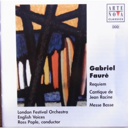 Faure: Requiem. Ross Pople, London Festival Orchestra, English Voices. 1 CD. Arte Nova