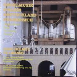 Organmusic from France, Germany, Italy, Hans Helmuth Tillsmanns. 1 CD. Danacord. New Copy