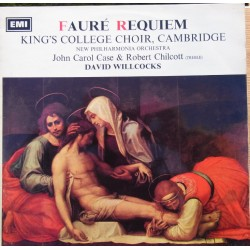 Faure: Requiem. David Willcocks, Kings College Choir. 1 LP EMI. ASD 2358
