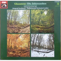 Glazunov: The Seasons. Svetlanov, Philharmonia Orchestra. 1 LP. EMI. 063-03268
