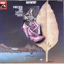 Pieces de Luth. Anthony Bailes. 1 LP. EMI Reflexe