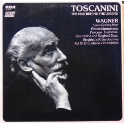 Richard Wagner: Orchestral music from Götterdämmerung. Arturo Toscanini. NBC SO. 1 LP RCA