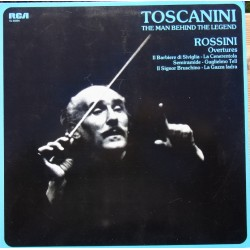 Rossini: Overtures. Arturo Toscanini, NBC SO. 1 LP. RCA. VL 46004