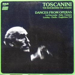 Dances from Operas. La Gioconda, Aida, Carmen, Lereley, Otello, Guglielmo Tell- Arturo Toscanini. NBC SO. 1 Vinyl LP. RCA