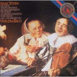 Bach & Vivaldi: The Great violin concertos. Isaac Stern. 2 LP. CBS