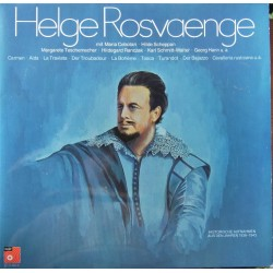 Helge Rosvaenge. Historical recordings between 1938 - 1943. 2 LP. BASF