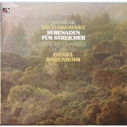 Dvorak & Tchaikovsky: Serenade for strings. Daniel Barenboim, ECO. 1 LP. EMI