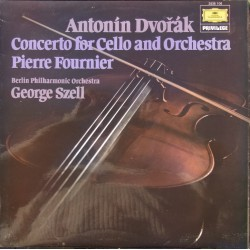 Antonin Dvorak: Cello Concerto. Pierre Fournier, George Szell, Berliner Philharmoniker. 1 LP. DG.Cello Concerto. Pierre Fournier