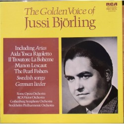 The Golden voice of Jussi Björling. 3 LP. RCA
