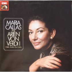 Maria Callas sings arias by Verdi from Otello, Aroldo, Don Carlos. 1 LP. EMI