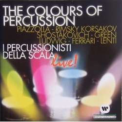 The Colours of Percussion. I Percussionisti. 1 CD. Warner