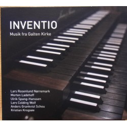 Inventio. Music from Galten church. 1 CD. CDK 1170