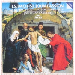 Bach: Johannes-passion. John Eliot Gardiner, English Baroque Soloists, Monteverdi Choir. 2 CD. Archiv