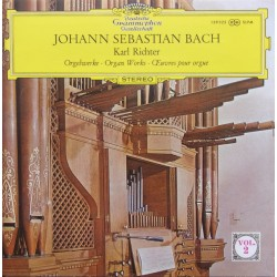 Bach: Organ Works. Karl Richter. 1 CD. DG