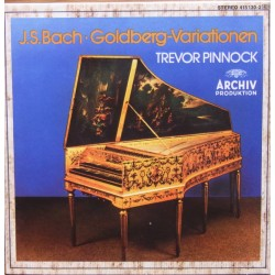 Bach: Goldberg Variations. Trevor Pinnock. 1 CD. Archiv