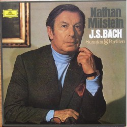 Bach: Sonatas and Partitas for violin solo. Nathan Milstein. 2 CD. DG