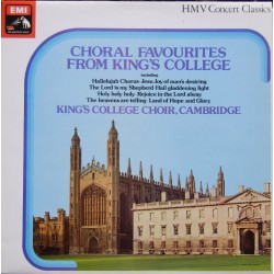 Choral favourites from Kings College. King's College Choir, David Wilcocks. 1 LP. EMI