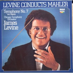 Mahler: Symphony no. 7. James Levine, Chicago Symphony Orchestra. 2 LP. RCA