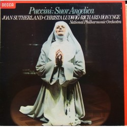 Puccini: Sour Angelica. Joan Sutherland. Christa Ludwig, Richard Bonynge., NPO. 1 LP. Decca SET 627