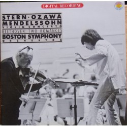 Mendelssohn: Violin Concerto. Isaac Stern, Seiji Ozawa. Boston SO. 1 LP. CBS