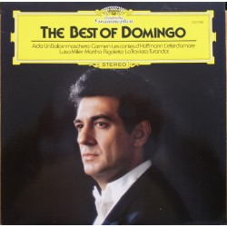 The Best of Domingo. Verdi, Bizet, Offenbach, Donizetti. 1 LP. DG