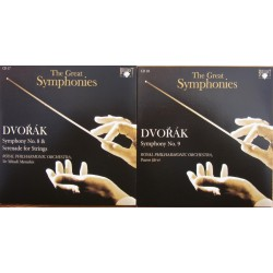 Dvorak: Symfoni nr. 8, 9 & Serenade for strygere. Menuhin, Royal PO. 2 CD. Brilliant Classics