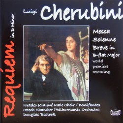 Cherubini: Requiem in D. + Missa Breva. Czech Chamber Philharmonic, Douglas Bostock. 1 CD. Classico. New Copy