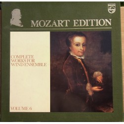 Mozart Edition vol. 6. Komplette værker for blæsere. 7 LP Philips