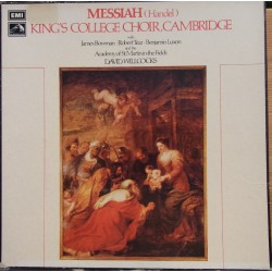 Handel: Messiah. David Willcocks, King's College Choir. 3 LP. EMI. SLS 845