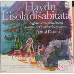 Haydn: L'isola Disabitata. Lerer, Alva, Bruson. Antal Dorati. 2 LP. Philips