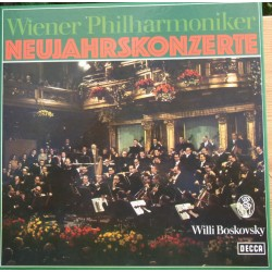 New Years Concertos. Willi Boskovsky, Wiener Philhamoniker. 3 LP. Decca