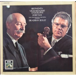 Beethoven: Violinkoncert. Josef Suk, Sir Adrian Boult. New Philharmonia Orchestra. 1 LP. EMI