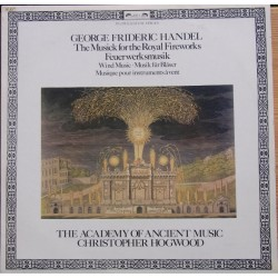 Handel: Fireworks Music. C. Hoogwood, The Academy of Acient music. 1 LP. L'oiseau Lyre
