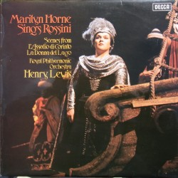 Marilyn Horne sings Rossini. 1 LP Decca. SXL 6584