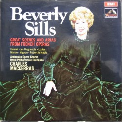 Beverly Sills Great Scenes and arias from french operas. 1 LP. EMI. ASD 2513