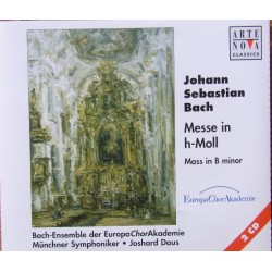 Bach: Messe i H-mol. Helen Kwon, Peter Lika, Frantisek Straka, Bach ensemble Choir, Munich SO, Joshard Daus. 2 CD. Arte Nova.