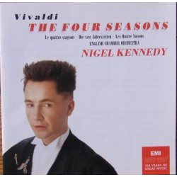 Vivaldi: De 4 årstider. Nigel Kennedy, English Chamber Orchestra. 1 CD. EMI