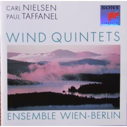 Carl Nielsen & Paul Taffanel: Blæser kvintets. Ensemble Wien-Berlin. 1 CD. Sony. SK 459962