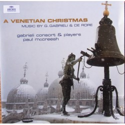 A Venetian Christmas. Gabrieli Consort and Players. Paul Mccreesh. 1 CD. Archiv